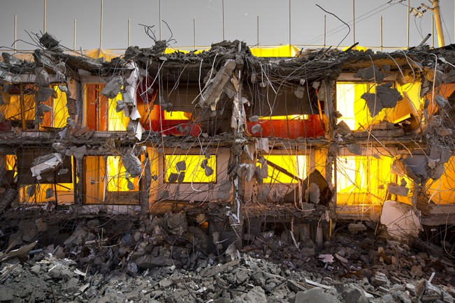 Demolition Site 14 Outside_Pigment print_120x160cm_2013 copy