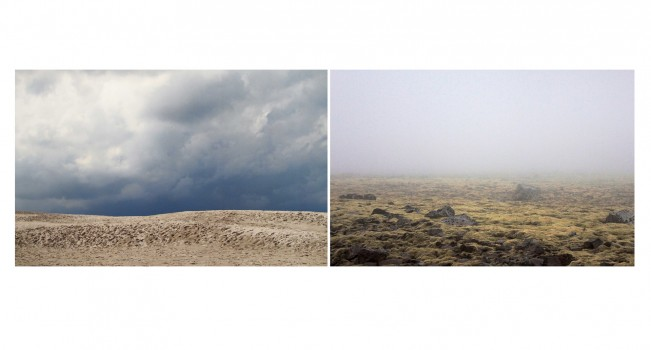 S. Arriola Råbjergmile + Fog over Lava Field