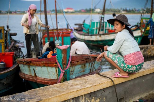 Kampot Fishing Fleet