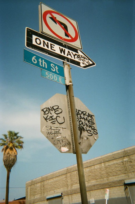 3 6th St. One Way by Jeff Cross