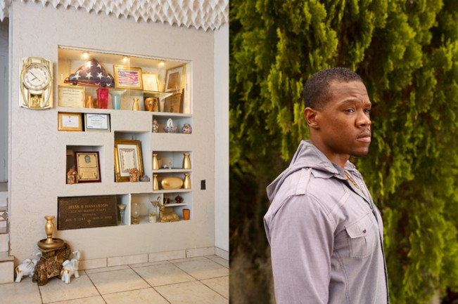 Jesse Hankerson's Memorial and Zabian Hankerson (Diptych)
