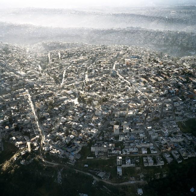 13. Vista Aerea de la Ciudad de Mexico, VI, 2006