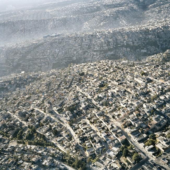 14. Vista Aerea de la Ciudad de Mexico, XIII