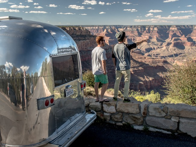 Road Trip - Airstream and Grand Canyon