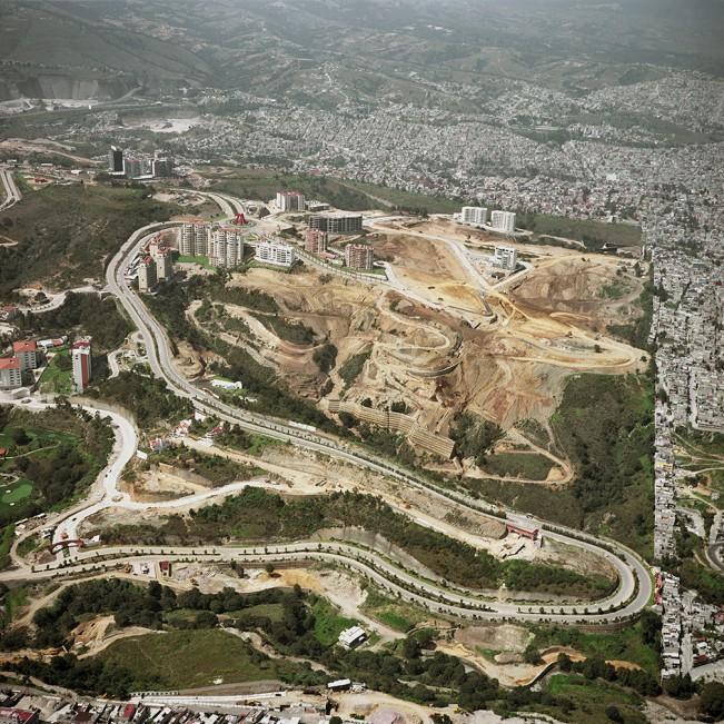 8. Vista Aerea de la Ciudad de Mexico V, 2006