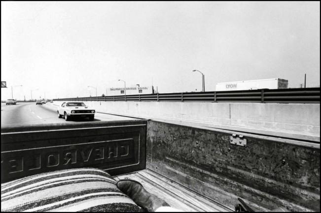San Bernardino Freeway, CA, Road Pictures 1974