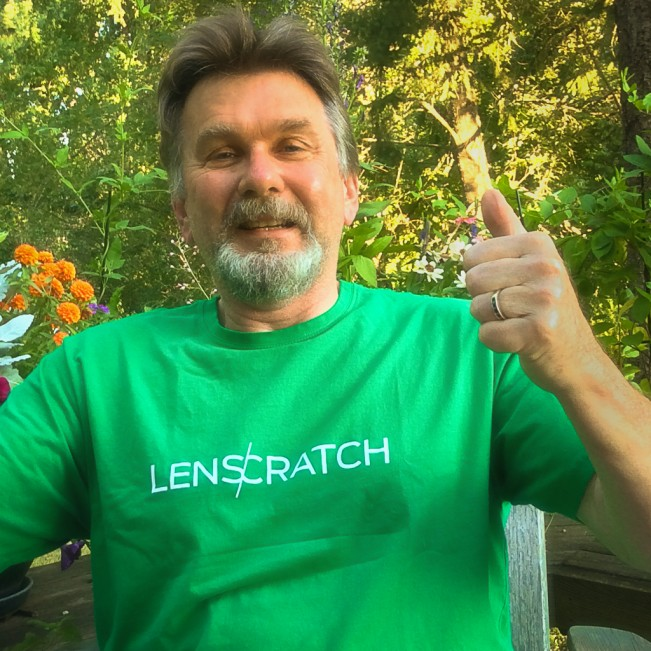 LENSCRATCH t shirt