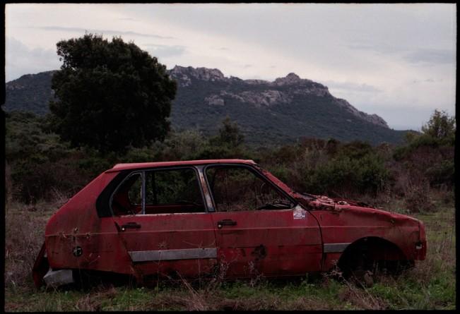 a fall in Corsica 2013