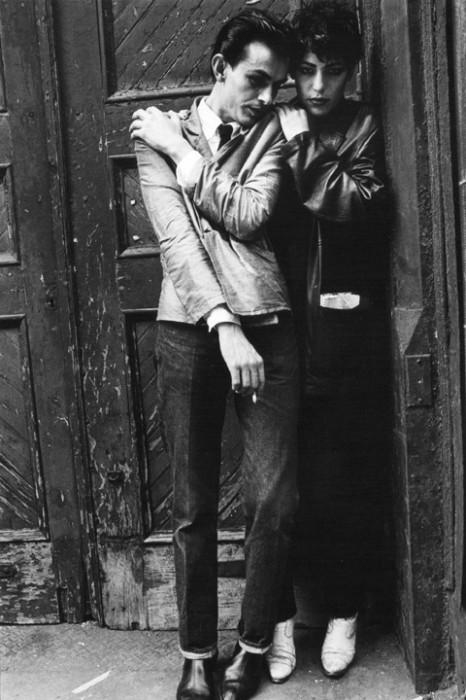 Couple SoHo Doorway_1