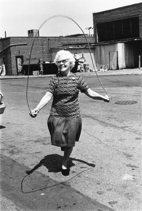 Isabel Croft Jumps Rope