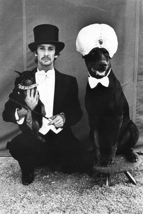 Lloyd Steir and Dogs at the Big Apple Circus NY1976