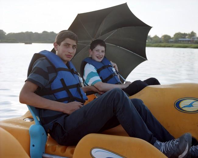 12-Two Boys in a Peddle Boat, Marine Park, Brooklyn, 2014