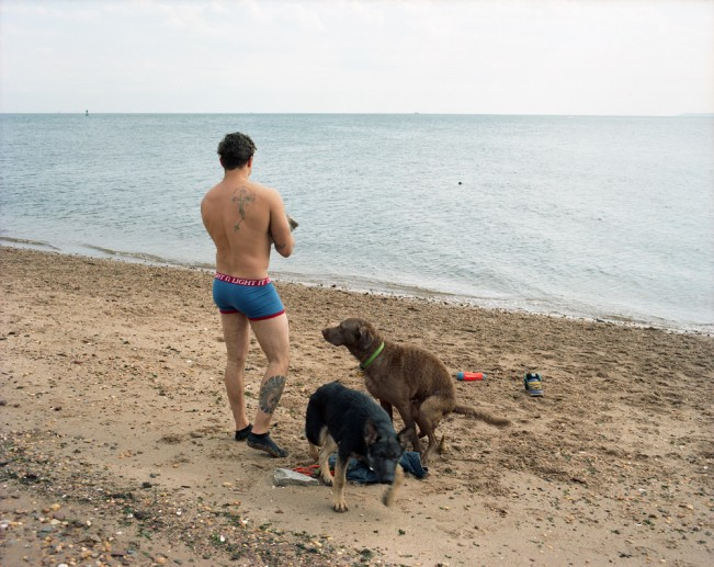 6-Man and Two Dogs, Princes Bay, Staten Island, 2014