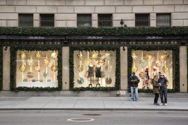 Christmas Windows Before and After