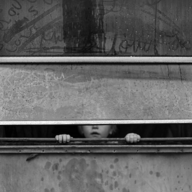 Boy at Window, Magoffin County