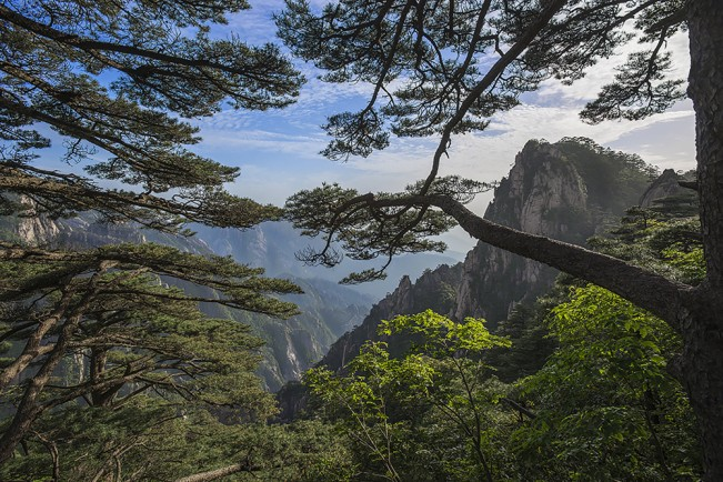 Don McKenna, Huangshan Mountains, China