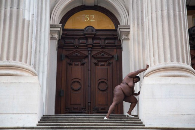 Nona Faustine_They tagged the land with Institutions and Trophies from their Rapes and Conquests