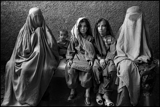 Afghan Refugee Women and Children