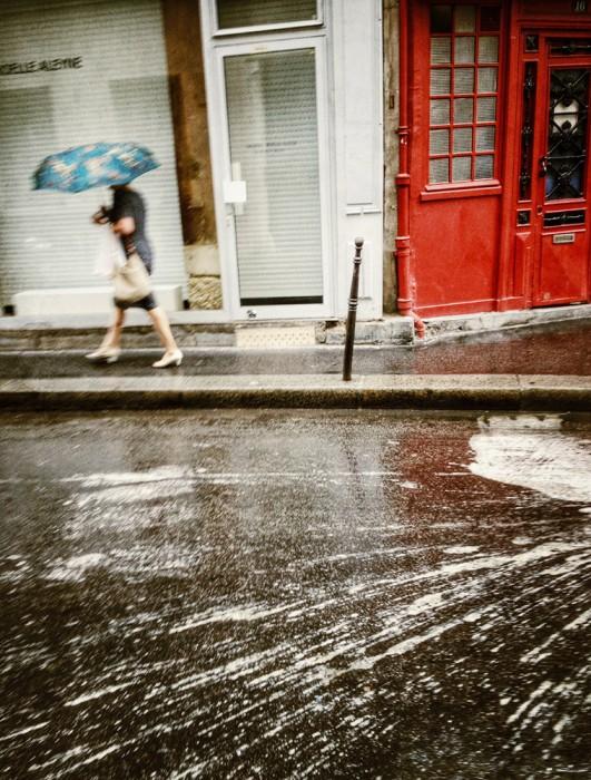 Paris Downpour_CatGwynn