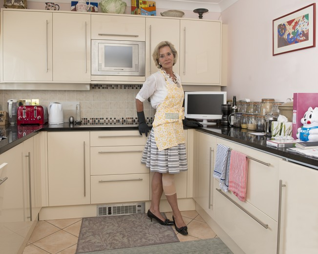 010 Anne Loseff, Fort George kitchen, St Peter Port, Guernsey