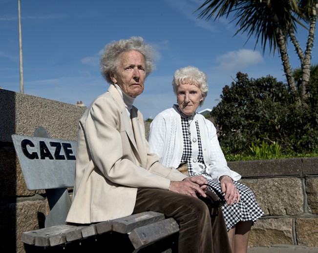 013 Marjorie and Laura, La Route de la Liberation, Jersey