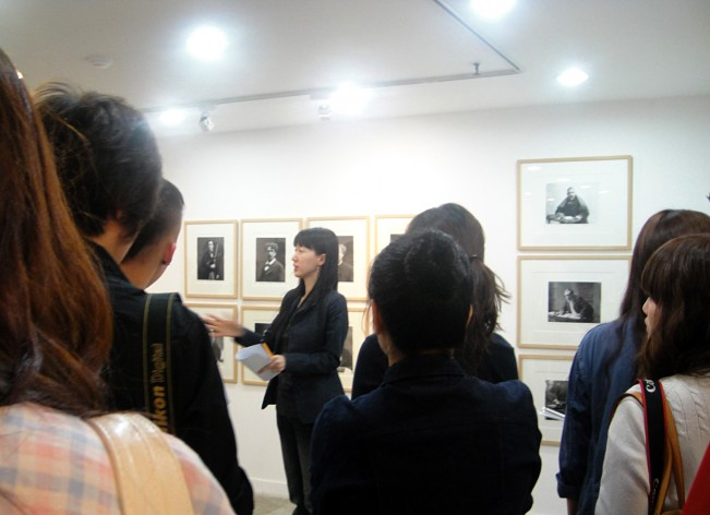 Curator talk_ Felix Nadar exhibition