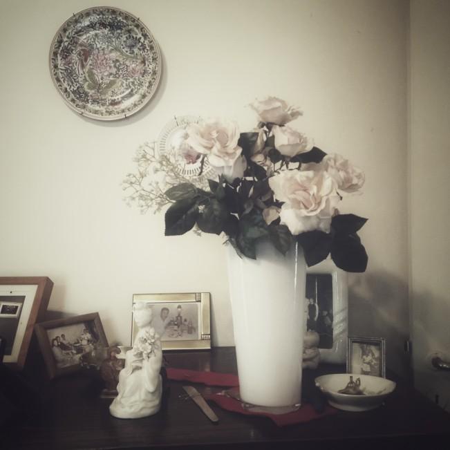 Las rosas de mi tía