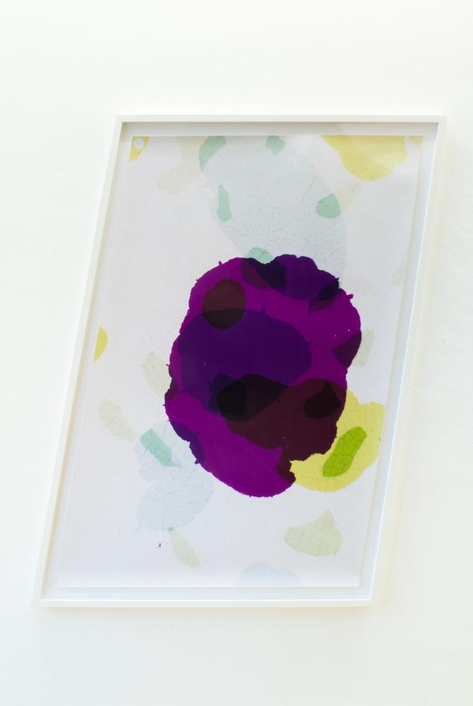 Fotogramm / Trapez, 2013 C-Print, als Objekt gerahmt ca. 142 x 92 cm Unikat