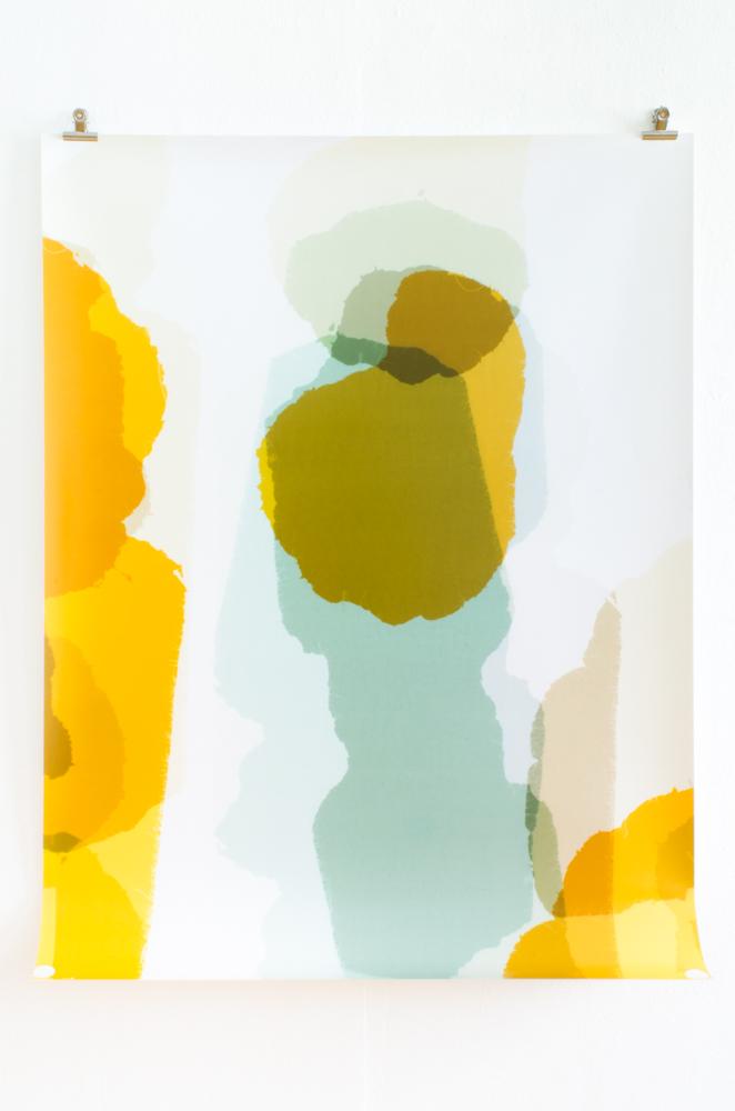 Fotogramm / Strich, 2013 C-Print 127 x 95,7 cm Unikat