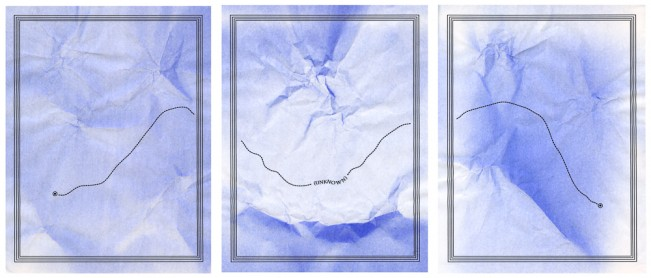 Through the Unknown (triptych)