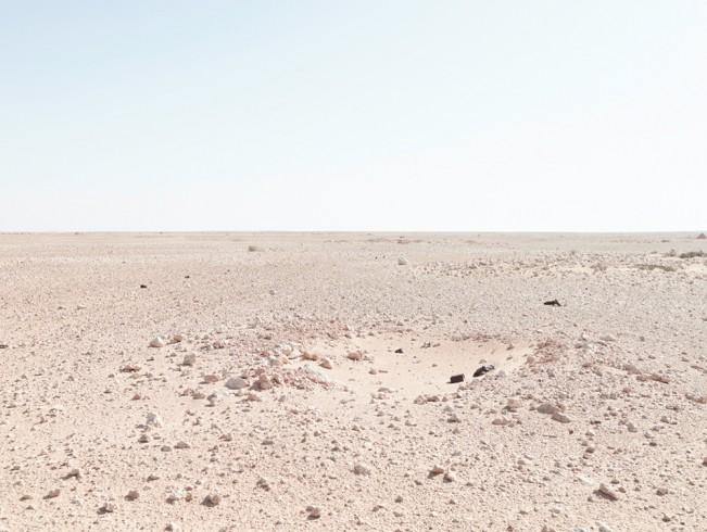 Infantry position, Bir Hachim Battlefield, Libya, 2012 Infantry