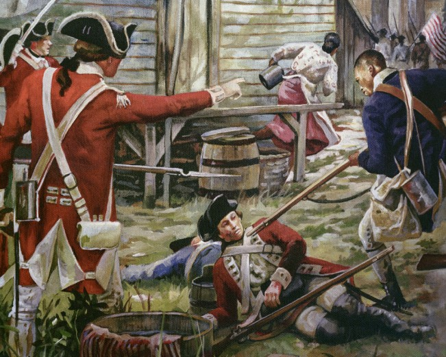 Revolutionary War Painting 001