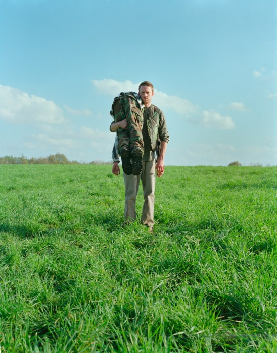 17. Sid & Eric in Green Field During The Winter, 2008