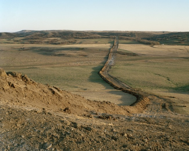"from the series ""When the Landscape is Quiet Again:  North Dakota's Oil Boom"""