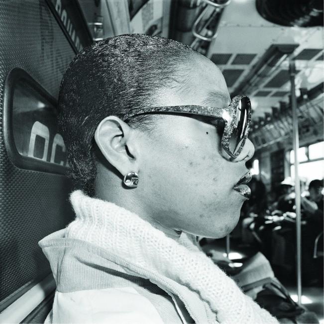 Subway Rider Profile, NY, NY March 1978
