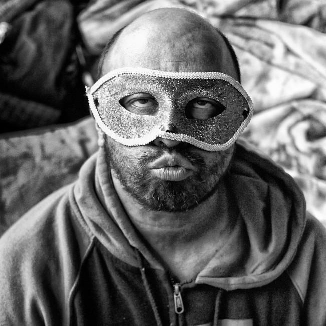 Man In Mask _A_LENSCRATCH