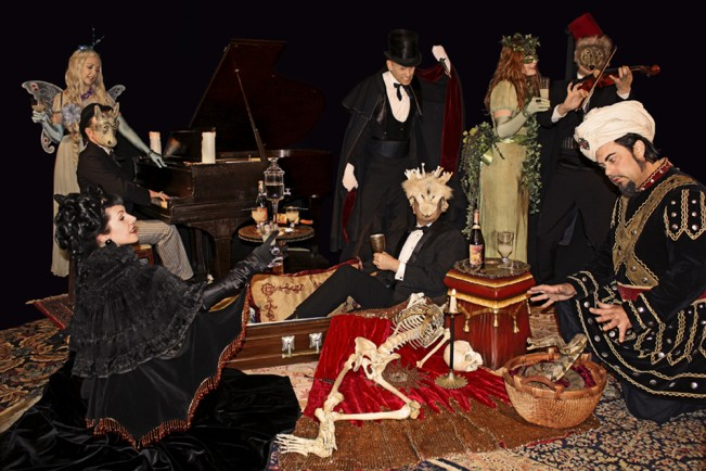 The Absinthe Party by Sean Yseult
