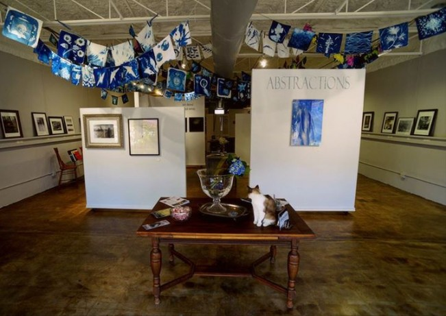 prayer flags in gallery 1