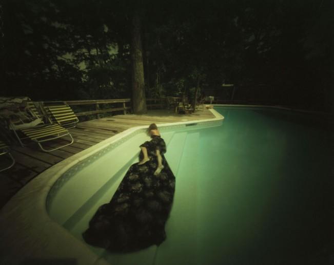 Irvington, Virginia Marsha with Fabric – Nick and Dorothy's Pool, 8.29.1980