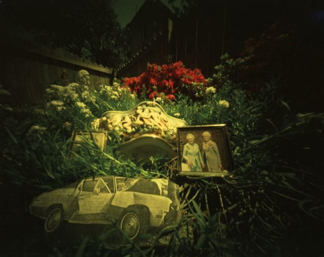 Memories of Anne & Evelyn – Backyard #3, 5.05.1982