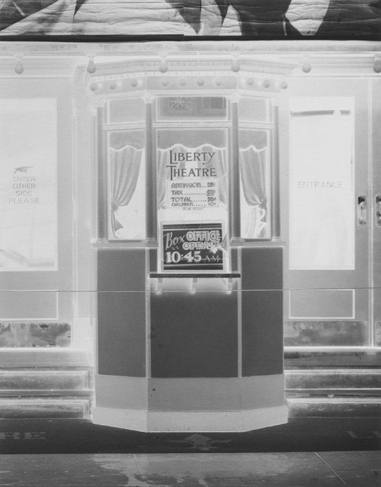 Jared Ragland Untitled (After Walker EvansÕ Movie theater on Saint Charles Street, New Orleans, Louisiana, 1935/6), 2015