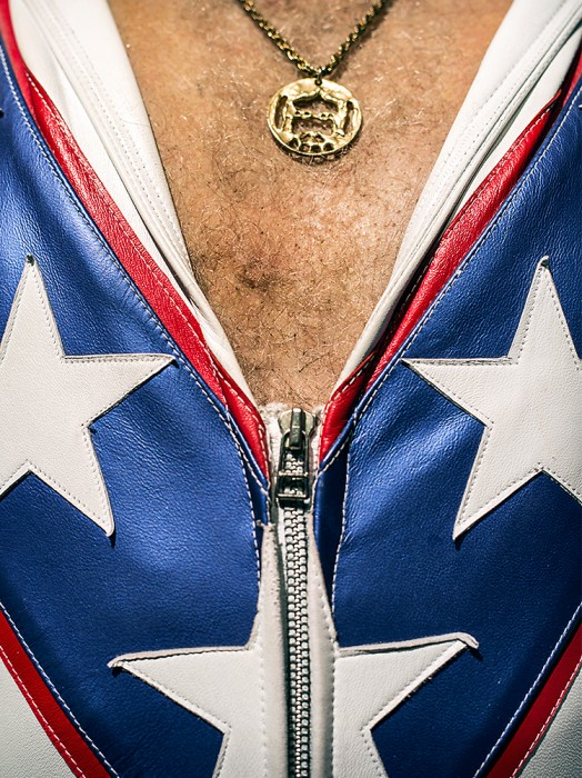 ©Alexis Pike, Evel Knievel's Chest Hair