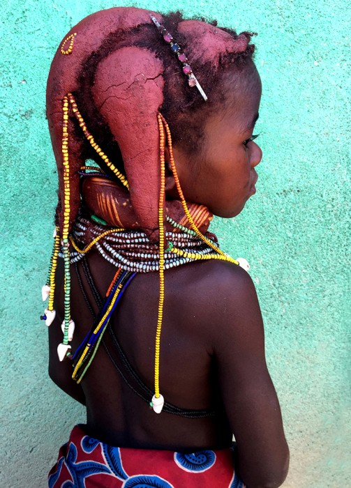 Mwila Child - Copyright Cindy Bendat 2015