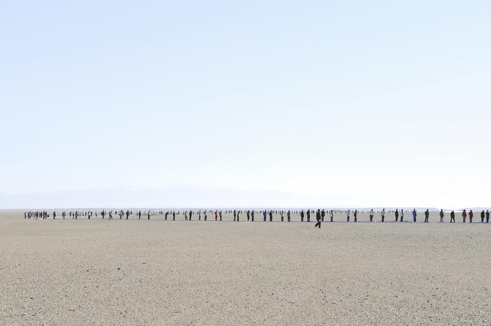 (PROCESS)View of Work ; Mirage #1_Gobi Desert_17