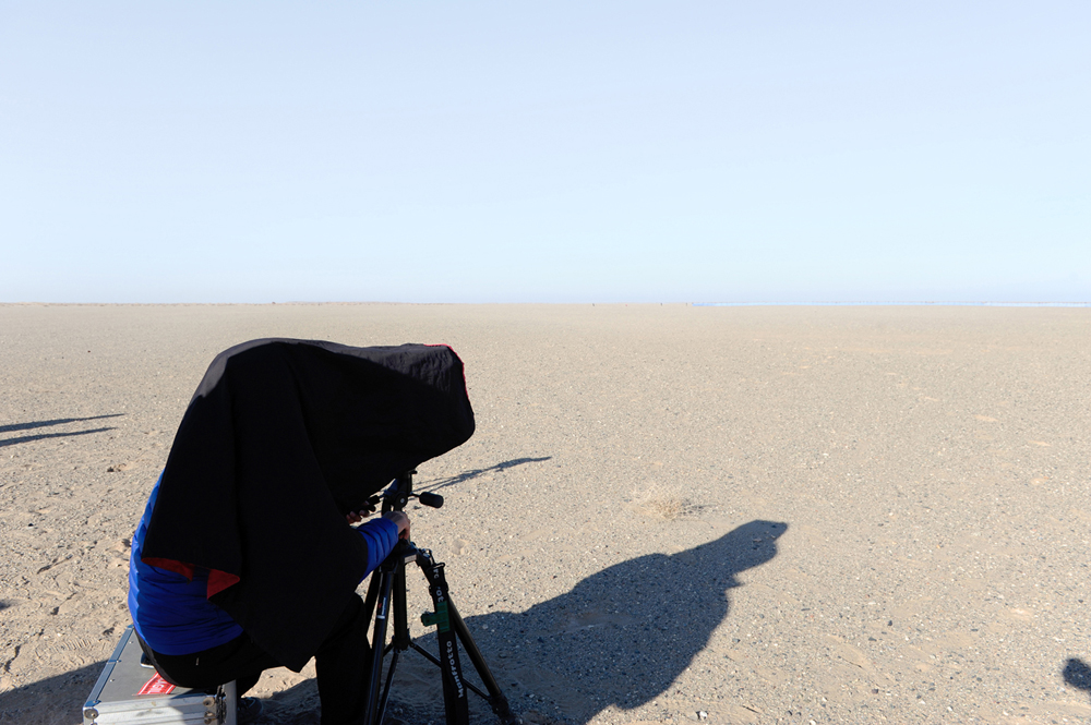 (PROCESS)View of Work ; Mirage #1_Gobi Desert_20