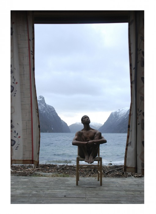 Self Portrait Fjord Norway