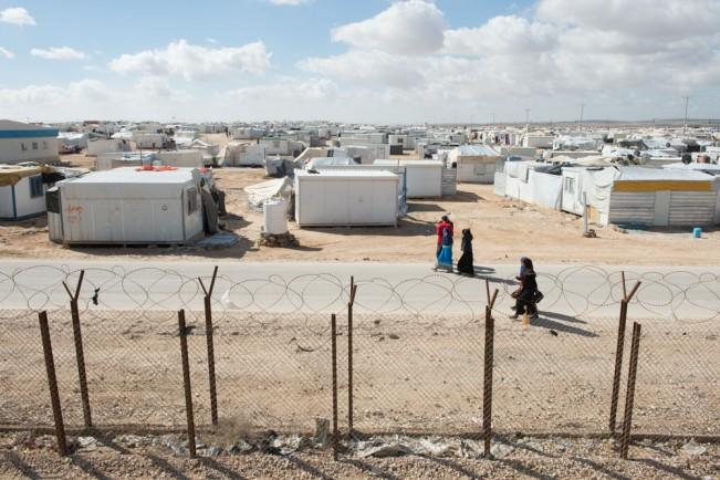 Syrian Refugees, Za'atari Refugee Camp, Jordan
