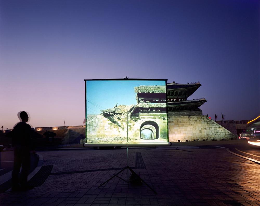 historic present004_Janganmun (North gate of Suwon Hwaseong