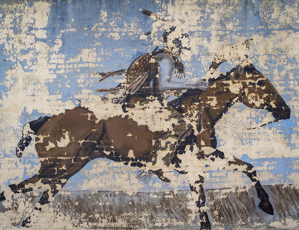 Crumbling Mural