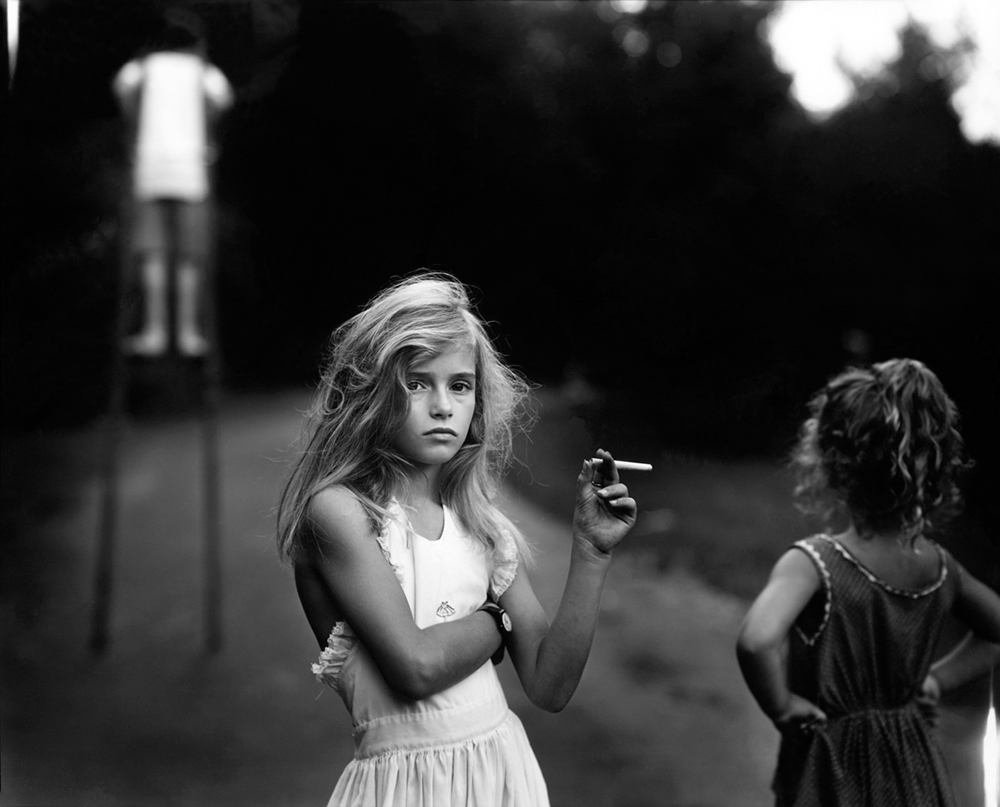 Sally Mann 'Candy Cigarette', 1989. Gelatin-silver contact print. 8 by 10 inches.